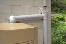 Superhead first flush filter