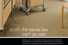 Ecare impervious carpet backing