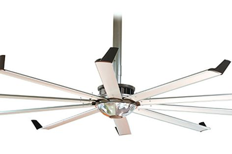 The Element fan reduces the load on air-handling systems and, in turn, minimizes energy costs.