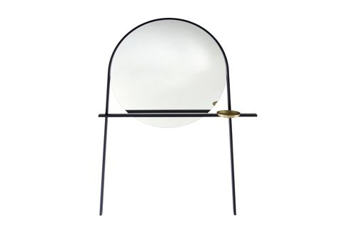 Geoffrey hall stand and mirror by Ligne Roset