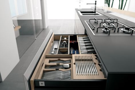 Valcucine kitchens from Rogerseller