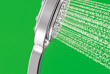 Koverage, one of four spray options offered by the Flipside hand shower.