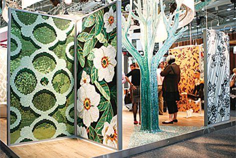 The Sicis display at designEX 2010.