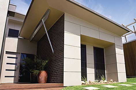 The expressed-joint look of Scyon Matrix cladding gives projects a commercial look.