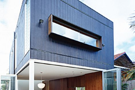 Shadowclad plywood cladding