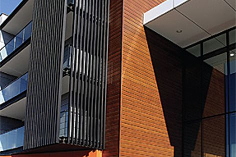 Timba Panel cladding has the appearance of real timber but requires very little maintenance.
