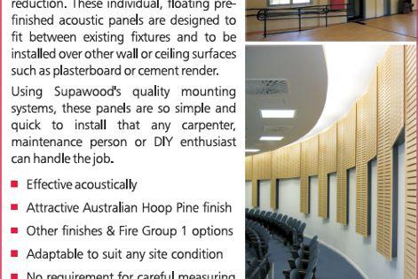 Supawood noise control kits