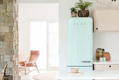 FAB refrigerator range by Smeg