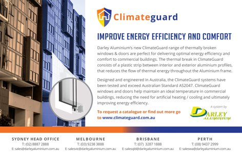 Climate Guard windows by Darley