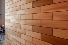 Timber feature panels by Stack Panel