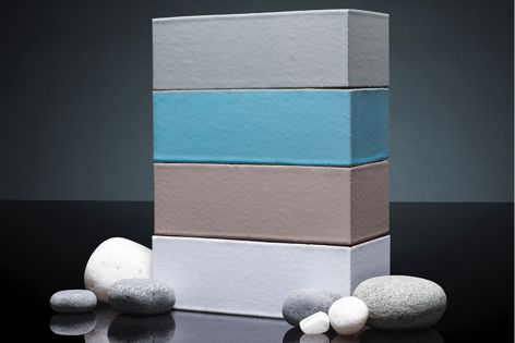 Seascape bricks are inspired by the sea and surrounding landscapes.
