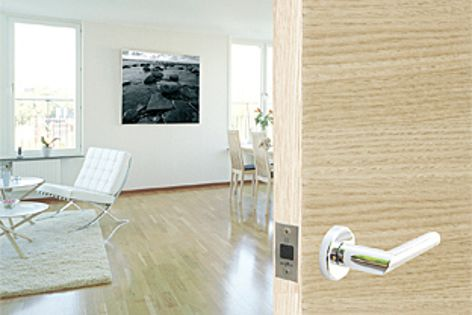 The BL001 magnetic latch is available in polished chrome, satin chrome, brass and bronze.