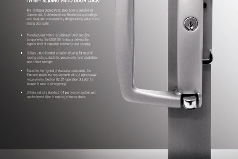Timbarra DS3130 lock by Doric