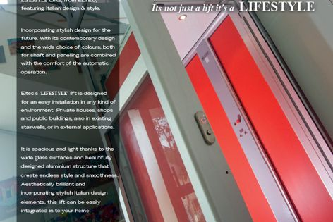 Lifestyle lifts from Master Lifts