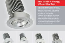 LEDlux LED downlights