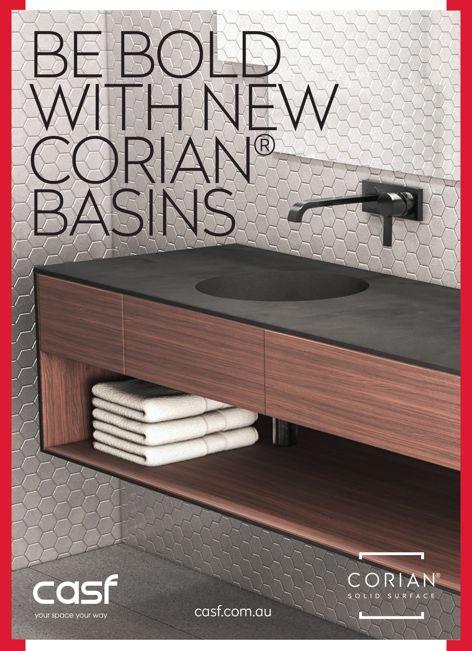 Corian basins from CASF