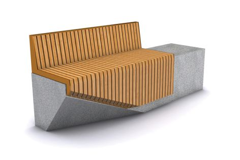 The Cleave seating range is a celebration of materiality and light.