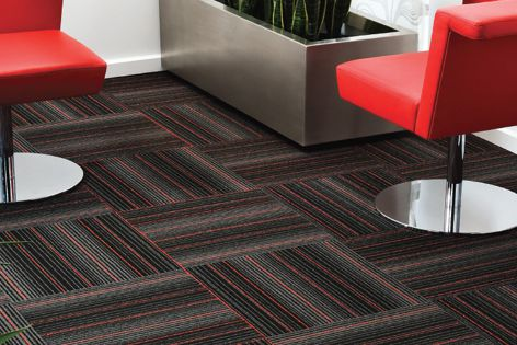 Skyline modular carpet by EC Group