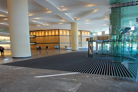 Recent installations of Integra Matting, like the one shown here, can be viewed on the new website.