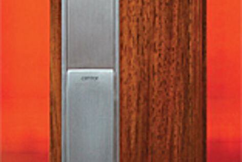 Centor's Twinpoint lock allows bifolds to be secured with a single motion.