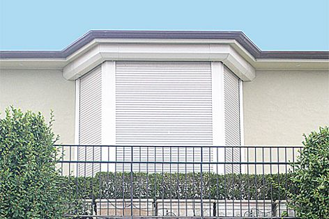 Blockout Shutters custom make shutters for many applications, including shaped and curved windows.