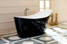 Custom bath finishes by Victoria & Albert