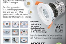 EVO50 downlight from About Space