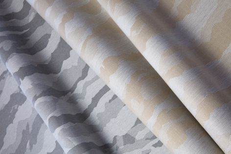 Cirrus is one of the new patterns in the updated Decorative Shade range from Sunbrella Fabrics.