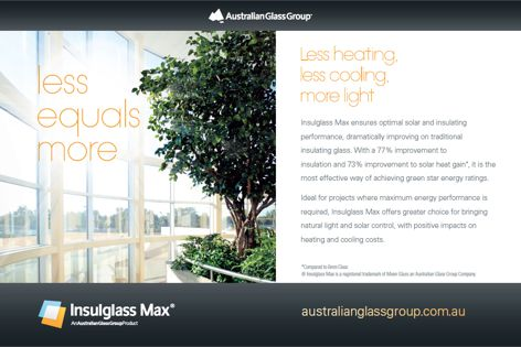 Insulglass Max insulating glass