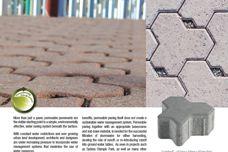 Ecopave permeable paving