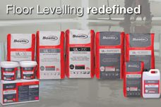Floor-levelling products by Bostik