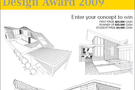 Winners of the Boral Design Award 2009 will share a prize pool of $34,000.