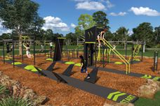 Park Warrior outdoor obstacle course