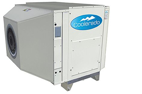 The Coolerado is using up to 50% less water than other evaporative systems.