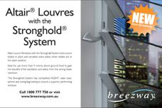 Altair louvres by Breezway