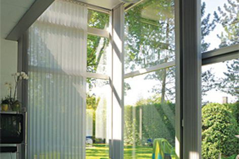 In summer, Climashield laminated glass can reduce heat gain through windows by up to 50%.