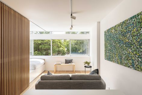 Boneca Apartment by Brad Swartz Architects was the winner in the Apartment or Unit category. Photography: Tom Ferguson.