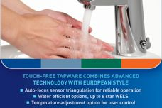 Electronic tapware by Enware