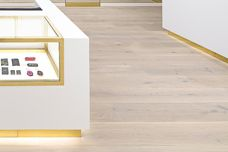 Wide wood flooring planks by Havwoods