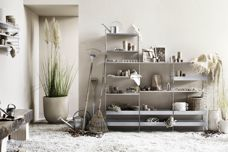String Galvanized shelving from Great Dane