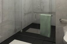 CRL Clear Space accessible shower system