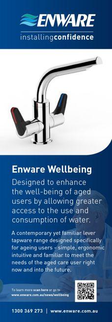 Wellbeing tapware by Enware