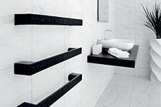 Ceramic towel rails from DC Short