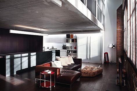 Pyrmont Apartment by Bokor Architecture + Interiors. Photography: Stuart Scott.