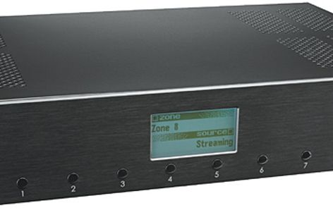 With multiple inputs, C-Bus provides a range of flexible audio options for the home.