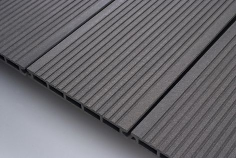 Urbanedge Deck 143 composite decking is made from over 95 percent recycled materials.