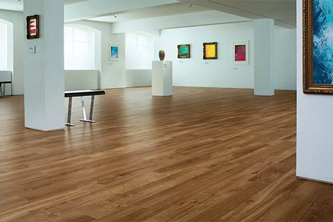 Karndean Designflooring's K Guard+ system ensures the flooring will protect its appearance.