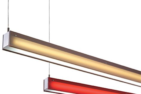 Slik fluorescent lights are now available in two new colours, Smoke and Ruby Red.