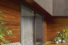 Endure timber cladding by Porta