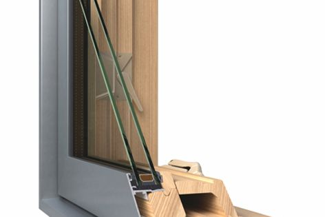 An argon gas filling improves the thermal perfomance of Miglas double-glazed window and door units.